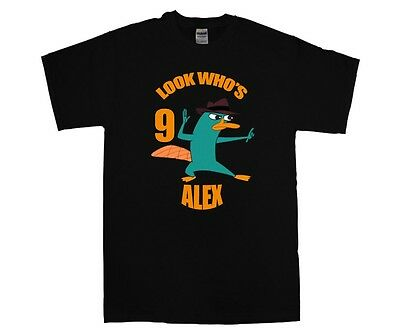 NEW Phineas /& Ferb Perry The Playtapus Youth Kids Sizes 5//6-6//7-8-10//12 Shirt