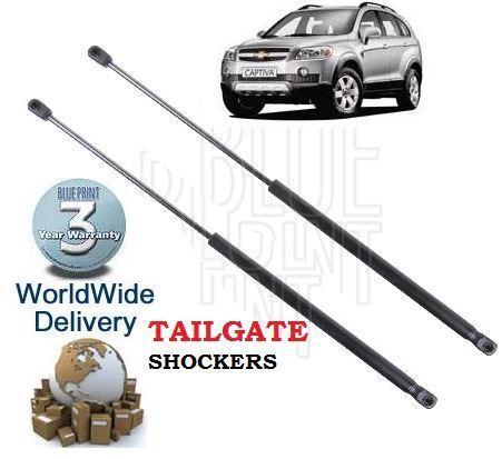 Per Chevrolet Captiva VCDi 2.0 2.4 2007-2010 NUOVO 2x POSTERIORE PORTELLONE Strut shockers