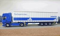Universal Hobbies Scania R Series Komatsu, The Experts Line Curtainside Truck.