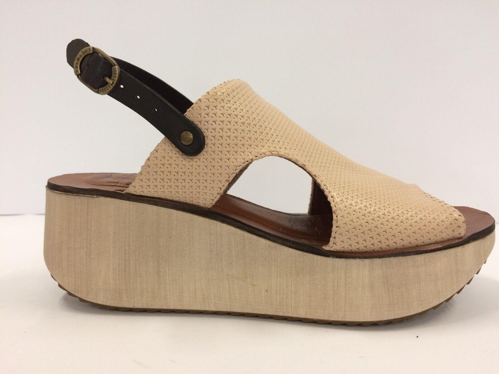 LILIMILL 6499 SETALQUA sandalo sandalo sandalo donna zeppa pelle made in  1997f6