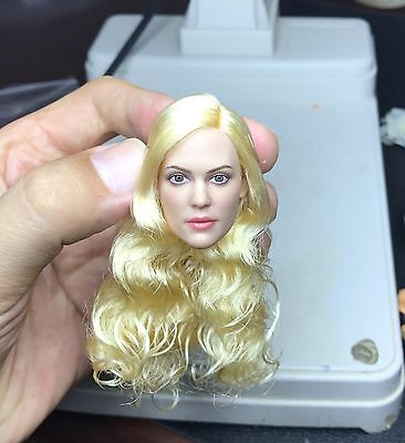 █ Custom Evan Rachel Wood Westworld 1/6 Head Sculpt for Hot Toys Female Body