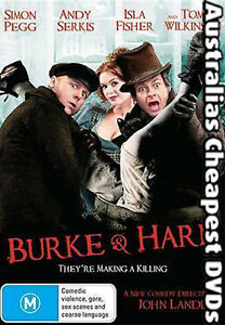 Burke-And-Hare-DVD-NEW-FREE-POSTAGE-WITHIN-AUSTRALIA-REGION-4