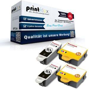 4x-Cartuchos-de-tinta-para-Kodak-esp-7-MAGENTA-NEGRO-CIAN-AMARILLO-Easy-Print