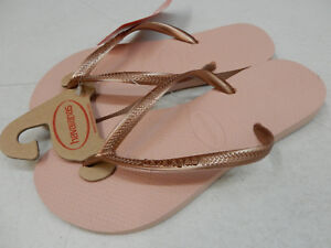 fee80704e2369a Image is loading HAVAIANAS-WOMENS-SANDALS-SLIM-BALLET-ROSE-SIZE-6