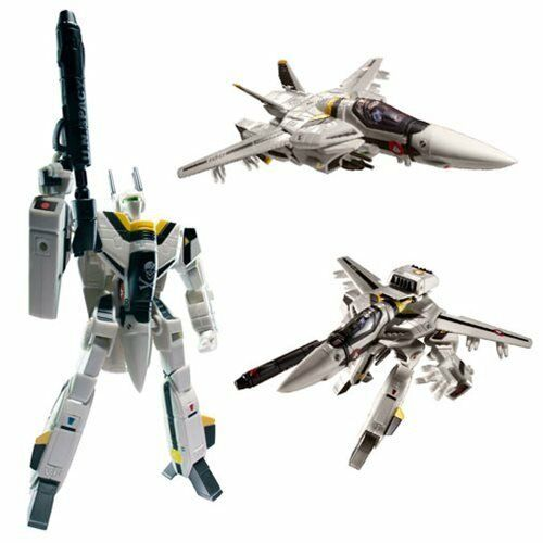 Robotech Roy Fokker 1:100 Scale VF-1S Transformable Veritech Fighter Collectible