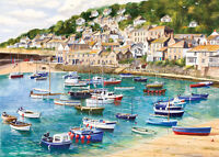 Gibson Mousehole Puzzle 1000 Pieces (quality Jigsaw By Gibsons Games)
