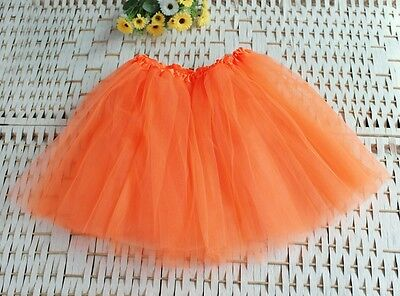 Adults Teens Girl Tutu Ballet Skirt 3 Layer Tulle Costume Fairy Party Night E