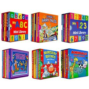 Toddler-Children-Early-Learning-Board-Books-Baby-Kids-Gift-Set-of-36-RRP-35-94