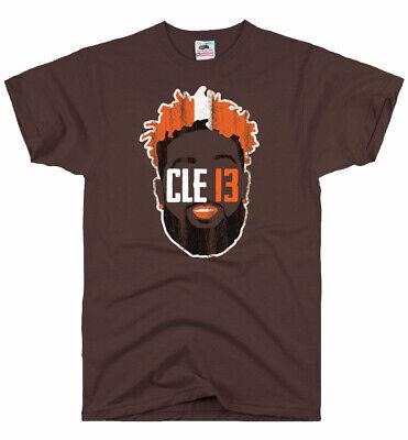 OBJ Odell Beckham Jr Catch T-Shirt 13 Browns Dawg Pound Football Fan Jersey