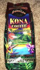 Espresso Kona Coffee Hawaiian Gold Kona Ground Gourmet Blend Cafe 1LB 16oz