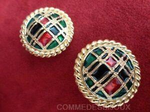 """B.o. """"bouton Ecossais"""" N° 1 Highlands Scottish - Bijoux Vintage Butler & Wilson"""