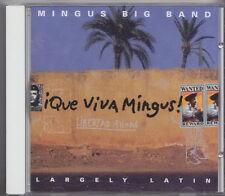 MINGUS BIG BAND CD  QUE VIVA MINGUS