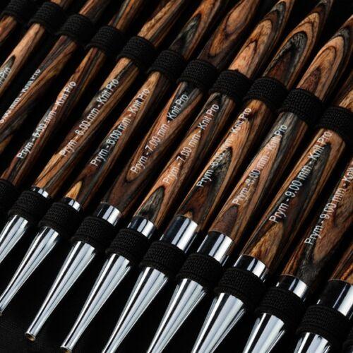 Prym natural alrededor de truco aguja-set alrededor de truco agujas birkenholz 223800