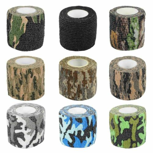 5m Outdoor Camo Gun Hunting Waterproof Camping Camouflage Stealth Duct Tape Wrap
