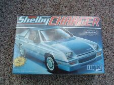 DODGE SHELBY CHARGER ~ Vintage 1983 MPC Model Kit 1-0876 ~ 1/25 ~ FACTORY SEALED