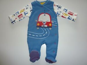 WADDED-Car-Sleepsuit-Size-Up-to-3-Months-NWT