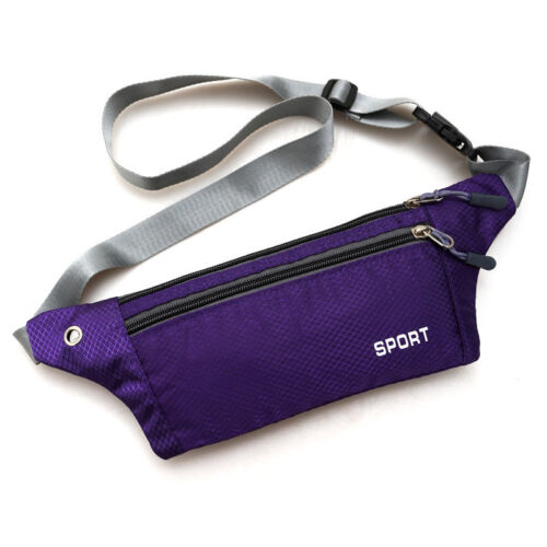 Running Waist Bum Bag Belts Sports Gym Cycling Jogging Pouch Travel Holiday Bags