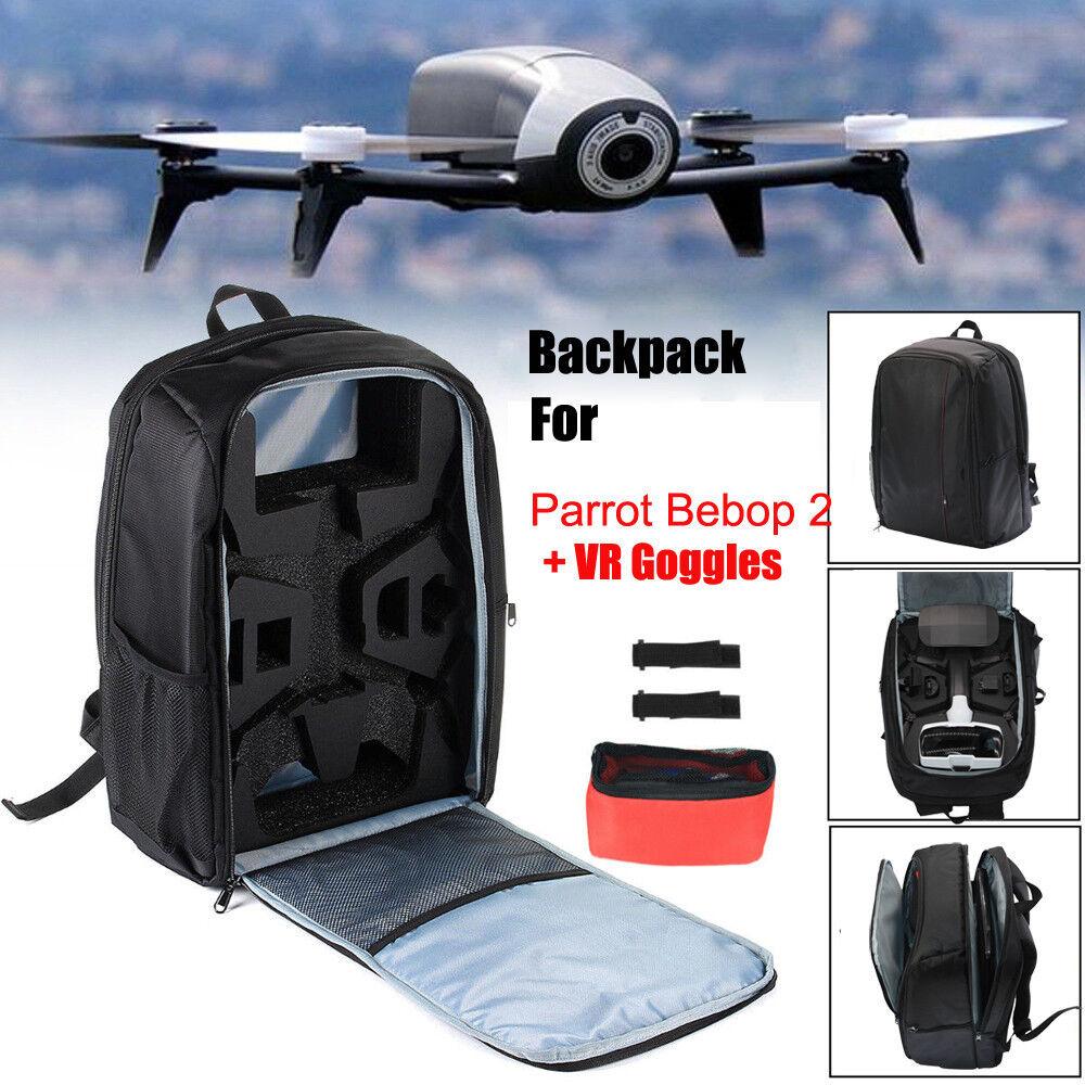 2 per Parrosso  Bebop potenza FPV Drone sptuttia Portatile Zaino borsa che trasportano casi  vendita con alto sconto