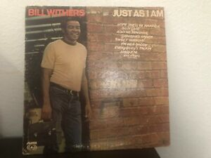 Bill Withers Just As I Am Vinyl LP Record Northern Soul Ain't No Sunshine Oldies