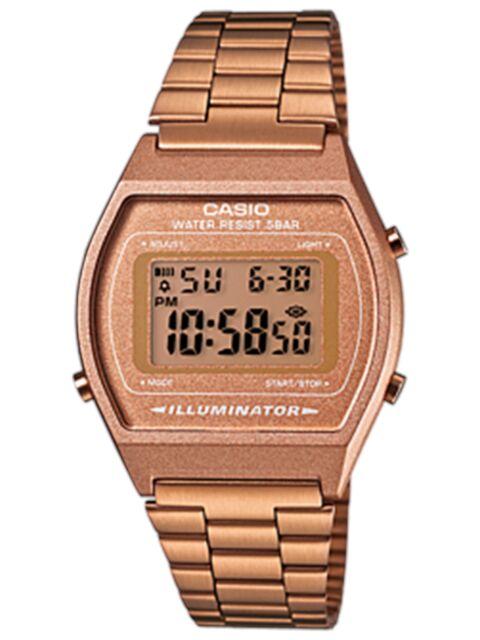 Casio Women's Core B640WC-5A Rose Gold Stainless-Steel Quartz Fashion Watch