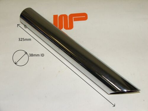 SEE PICTURE FOR MEASUREMENT WOOD /& PICKETT CHROME EXHAUST TRIM 3