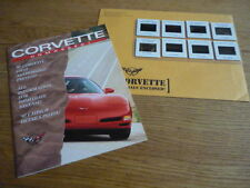 CHEVROLET CORVETTE PRESS BOOK CAR  BROCHURE 1997 jm