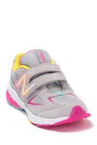 NB New Balance Girl's 1 Youth Gray Pink