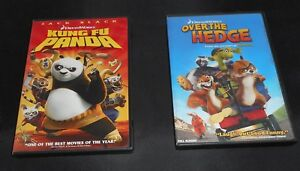 Lot Of 2 Dvd By Dreamworks Kung Fu Panda Ws Over The Hedge Fs W Origcase Ebay