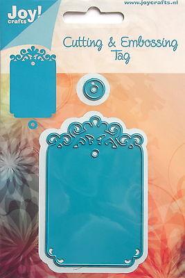 Joy Craft Cutting Die & Embossing Tag  - craft, card making, 0285