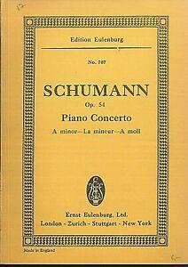 Taschenpartitur-SCHUMANN-Pianoconcerto-A-moll-Op-54