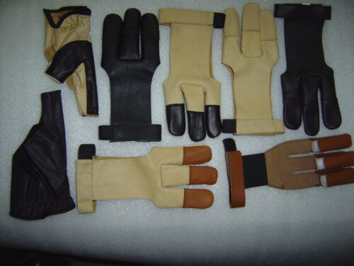 ARCHERS,BURNISH,BOW,SHOOTING LEATHER GLOVES//