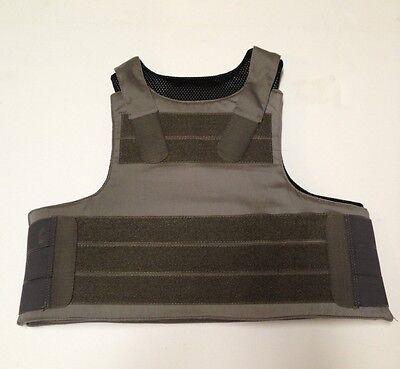 Low Vis Extra Vest Carrier For PACA RAD-RTH Level IIIa Soft Body Armor/eSAPI RG