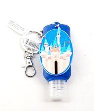 New Disney Parks Keychain Hand Sanitizer Souvenir Disneyland Castle