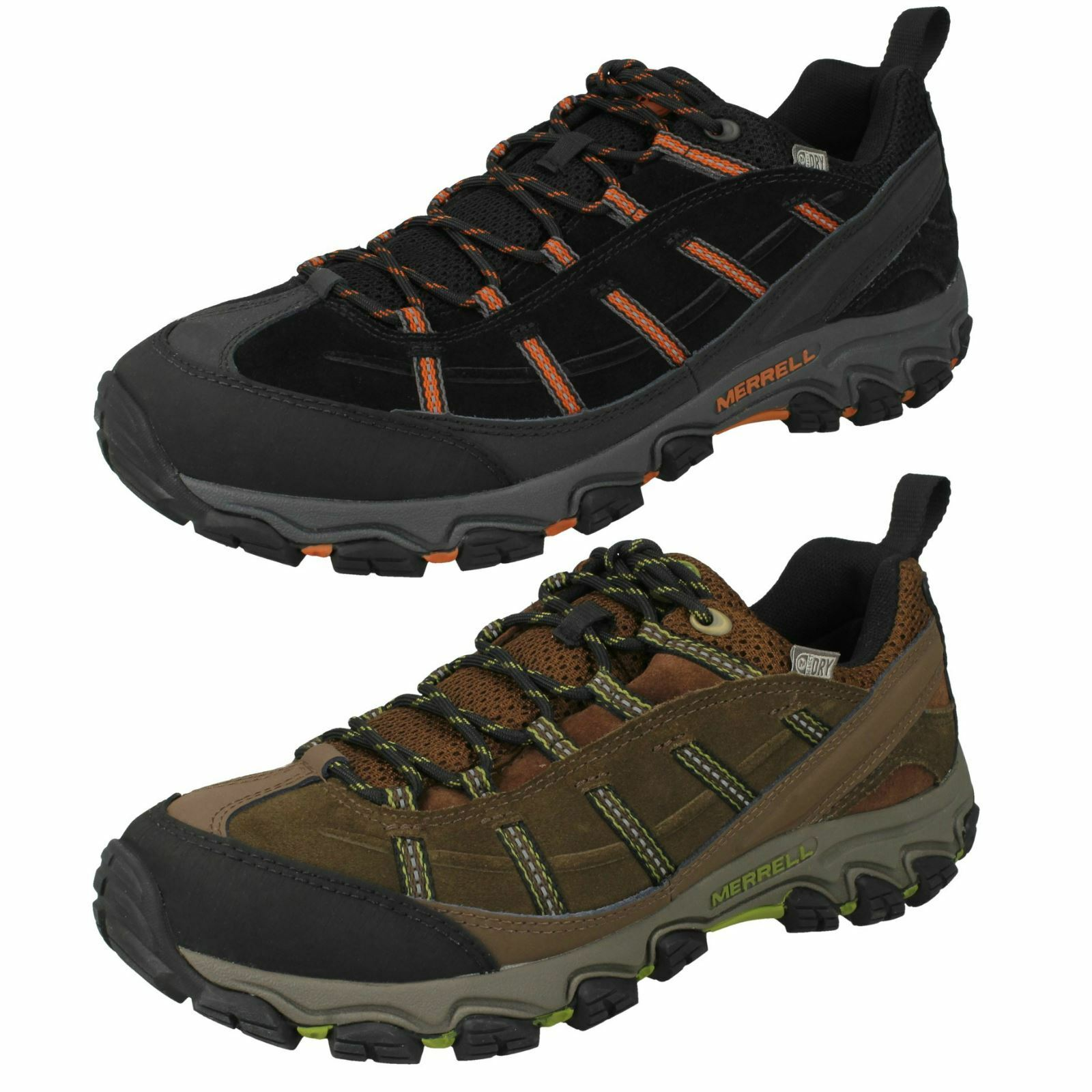 Mens Merrell Waterproof Walking Trainers Terramorph