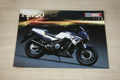 Good Heat Preservation Yamaha Fz 750 Prospekt 198 Professional Sale 194403