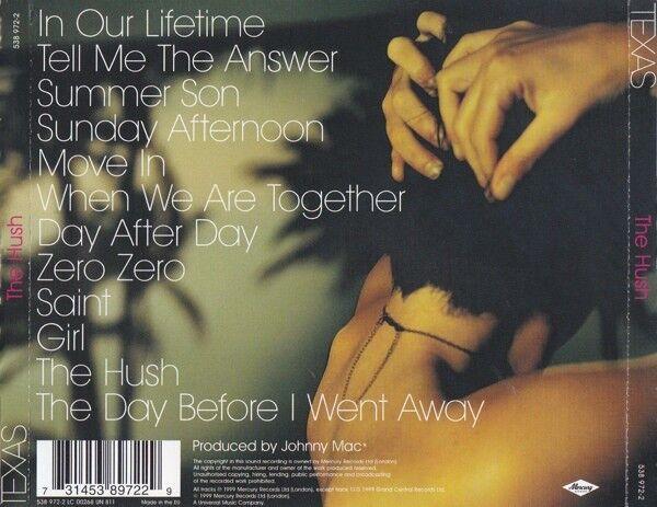 Texas: CD : The Hush, pop