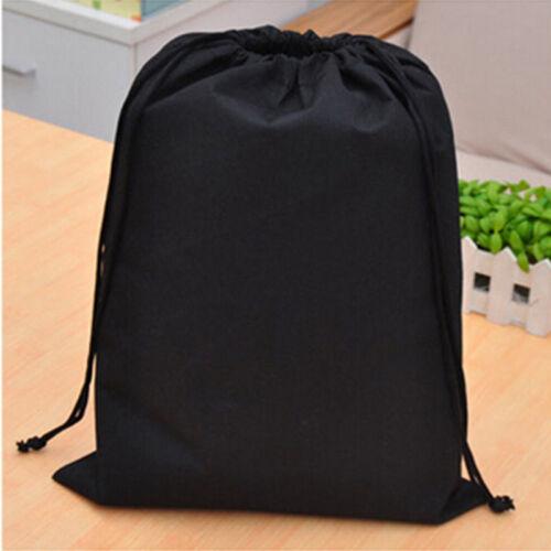 Portable Shoes Bag Travel Storage Pouch Drawstring Dust Bag Wash Non-woven Cloth