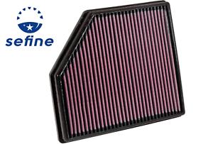K/&N Washable Lifetime Performance Air Filter *33-2418*