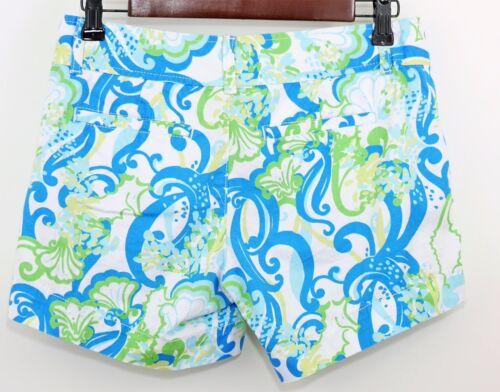 blu verdi Pulitzer Floral Callahan 0 Pantaloncini bianchi Lilly Casual e Donna qEwOBFwR