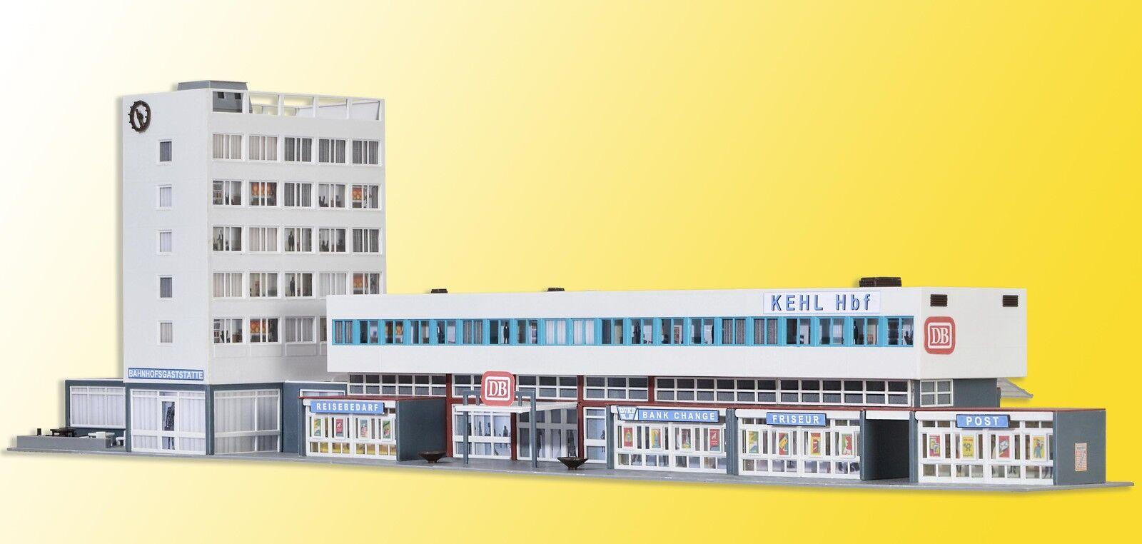 Kibri 39514 Gauge H0 Railway Station Kehl Incl. Floor Lights