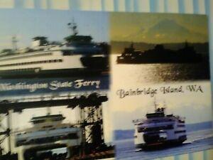 NEW-POST-CARD-WASHINGTON-STATE-FERRIES-BAINBRIDGE-ISLAND-WASHINGTON