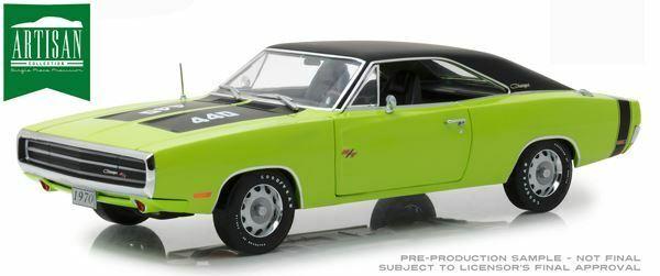 Vertlight échelle 1 18 1970 Dodge Charger R T SE Modèle   BN   13529