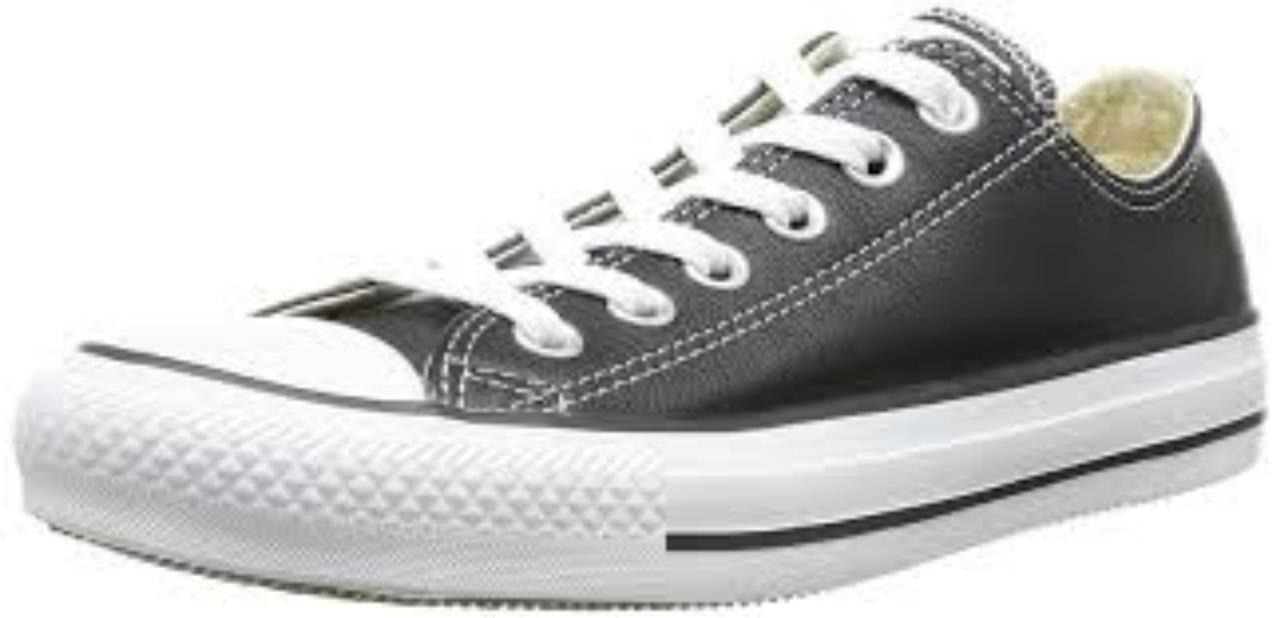 Converse Mujeres Chuck Nuevo Cuero Taylor Buey lo Zapato Nuevo Chuck Cuero Nuevo 731882