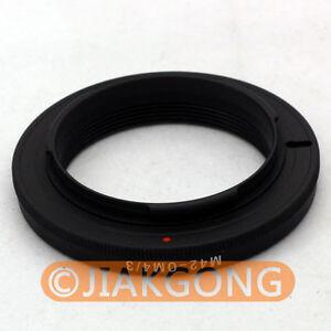 M42-lens-to-Olympus-4-3-adapter-Ring-focus-to-infinite