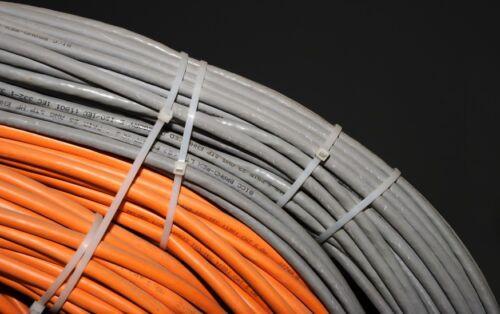 Kabelbinder Kabelband für Zaunblende Zaun Sichtschutz Netz 200mmx3,6mm 100St.