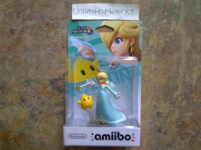 Super Smash Bros Amiibo (Rosalina) Nintendo Wii U & 3DS New Sealed US Version