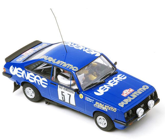 Equipo Slot Ford Escort RS2000 Mkii Monte Cochelo 1981 Rally Coche Ranura 1 32