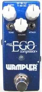 Used Wampler Mini Ego Compressor Guitar Effects Pedal