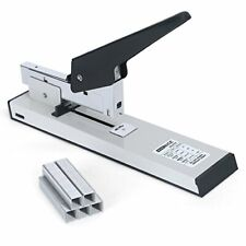 Heavy Duty Desktop Stapler For 100 Sheets With 1000 Staples Office High Capacity