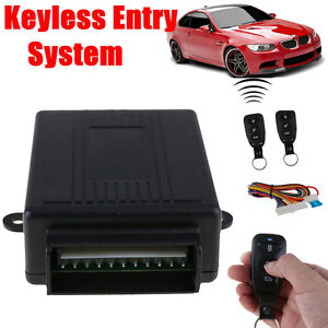 Universal-Car-Remote-Control-Door-Central-Lock-Locking-Kit-Keyless-Entry-System